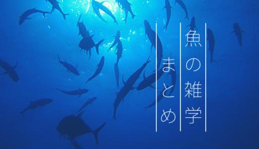 魚の雑学【まとめ】「陸に上がる魚がいる」など