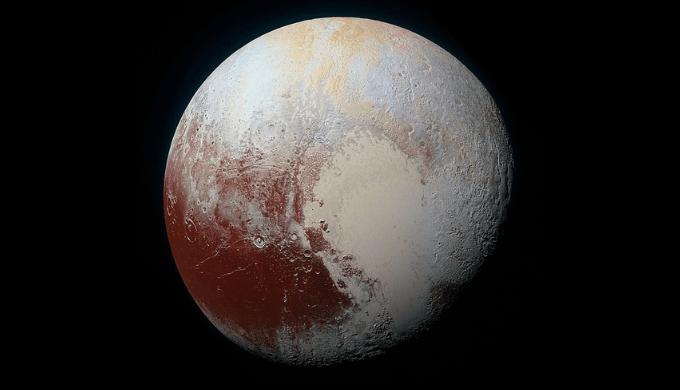 冥王星の画像