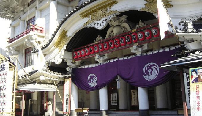 銀座の歌舞伎座