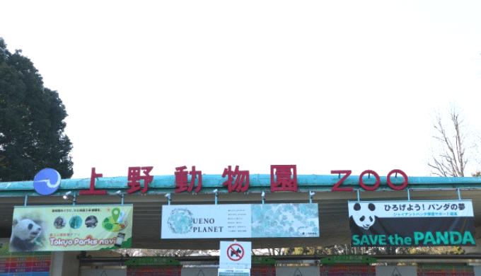 上野動物園の入園ゲート