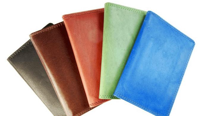 色とりどりの財布