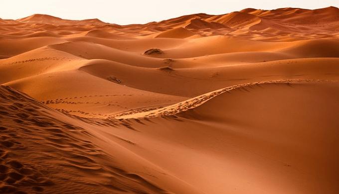 シルクロードをイメージした砂漠