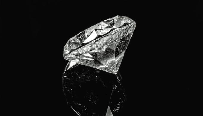 大きなダイヤモンド