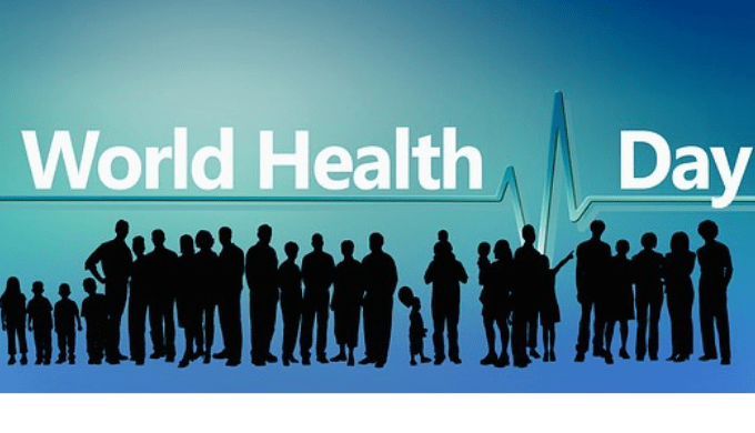 世界保健デーのイラスト